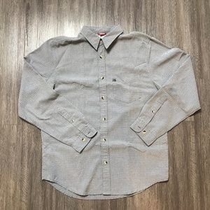 The North Face Men's Grey Long Sleeve Button Down